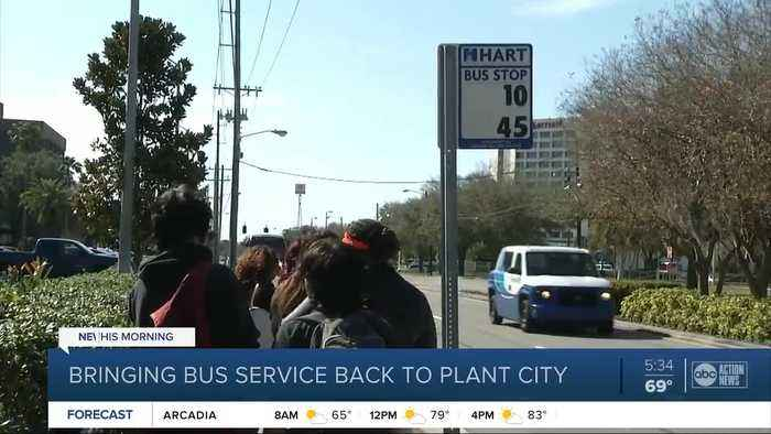 Bus service could soon be back in Plant City