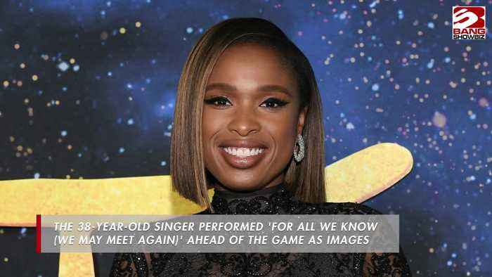 Jennifer Hudson leads Kobe Bryant tribute at NBA All-Star game