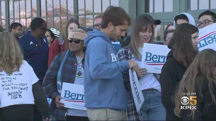 Bernie Sanders' Richmond Rally Draws Huge Support Ahead Of Super Tuesday