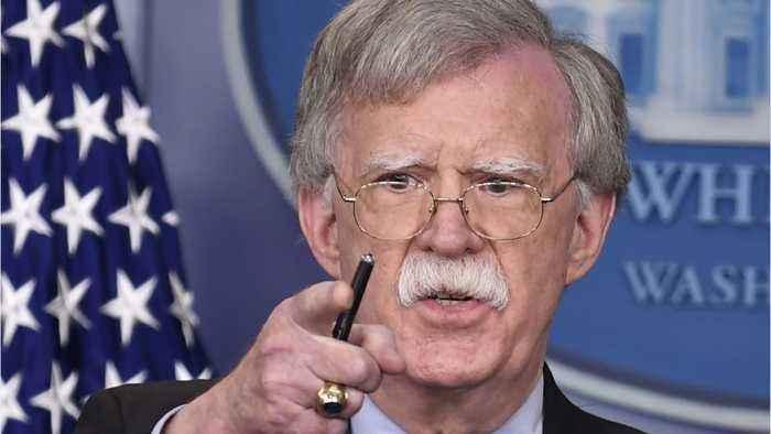 White House Still Fretting About John Bolton's Book