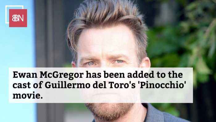 Ewan McGregor Is In The New 'Pinocchio'