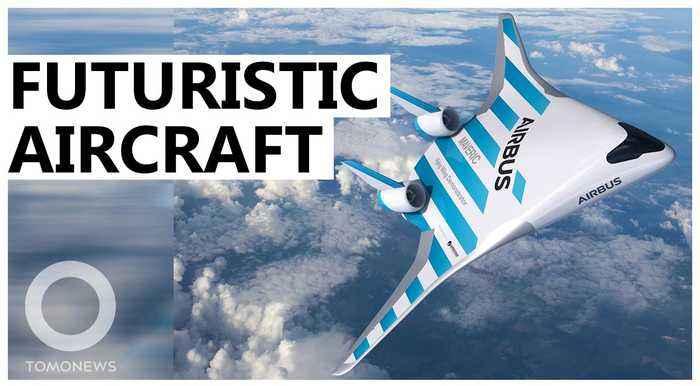 Airbus unveils prototype of futuristic plane