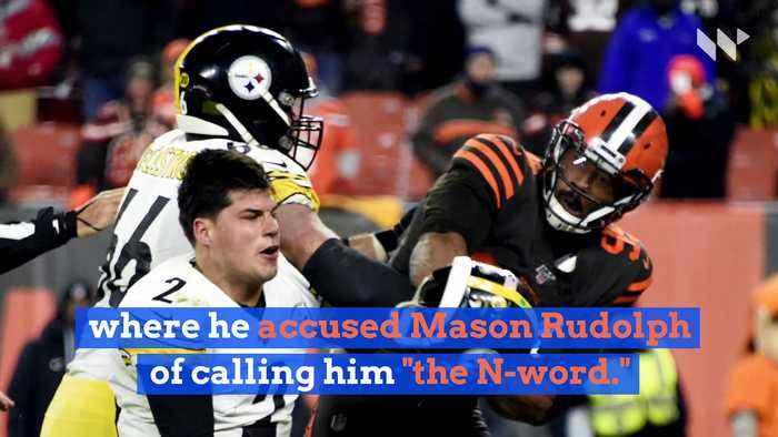 Mike Tomlin Defends Mason Rudolph Against Claims By Myles Garrett