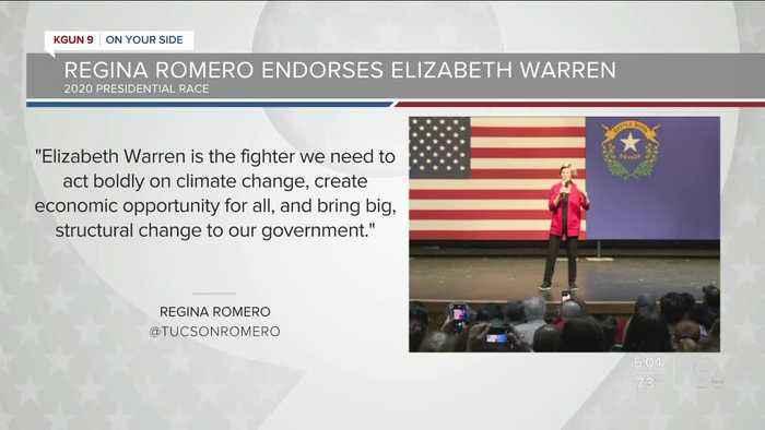 Tucson Mayor Romero endorses Elizabeth Warren for president ahead of state primary