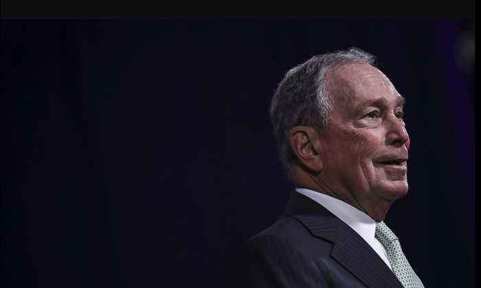 Bloomberg makes Las Vegas debate stage, facing Dem rivals for 1st time