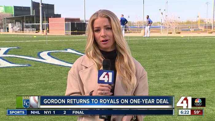 Royals OF Alex Gordon said come back was a 'no-brainer'