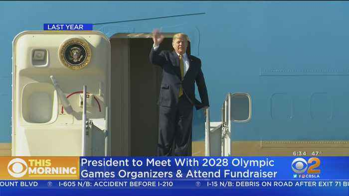 President Trump Headed For SoCal Today