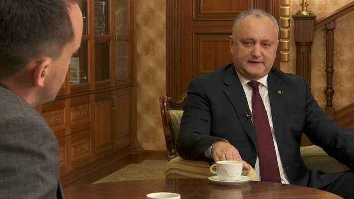 European ambassadors 'blocking' closer ties between EU and Moldova, says President Igor Dodon