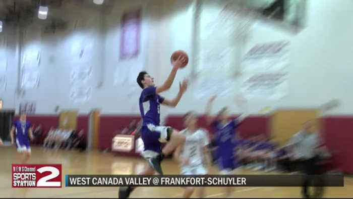 2-18-20 SCORES: Big fourth quarter lifts West Canada over Frankfort; Old Forge beats NY Mills