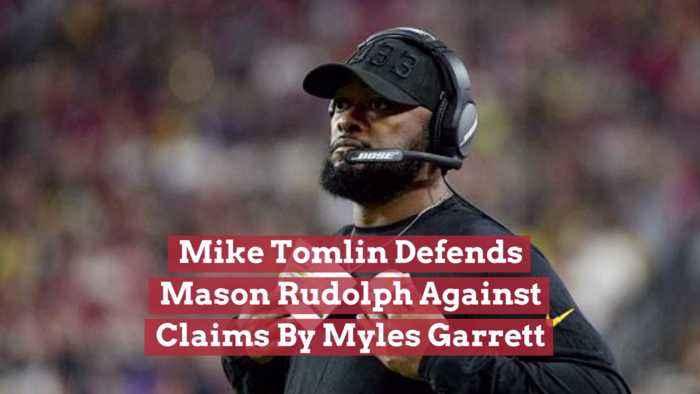 Mike Tomlin Backs Mason Rudolph