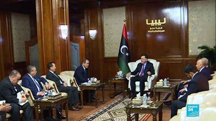 Libya's UN-backed govt suspends talks after Haftar forces attack Tripoli port