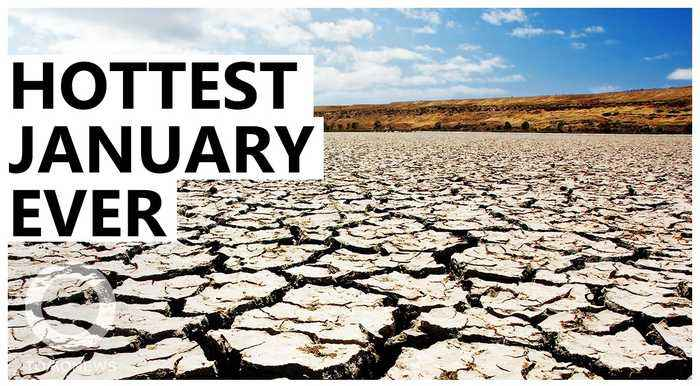 Why January 2020 was the warmest in history