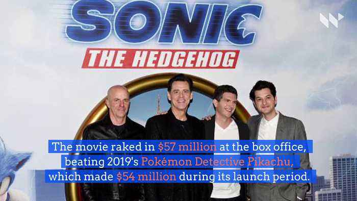 'Sonic the Hedgehog' Beats 'Detective Pikachu' Box Office Record