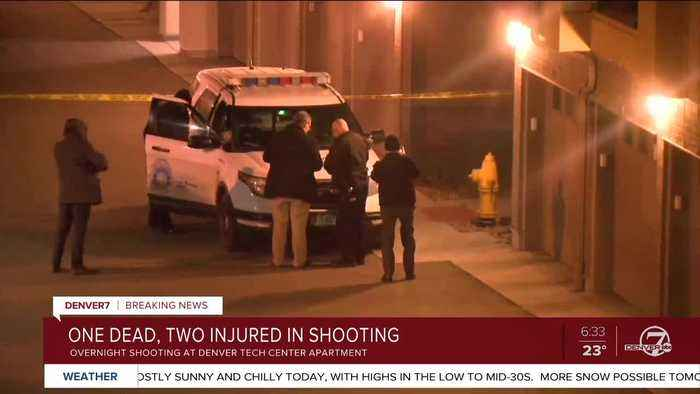 Shooting in Denver Tech Center early Wednesday leaves 1 dead, 2 wounded