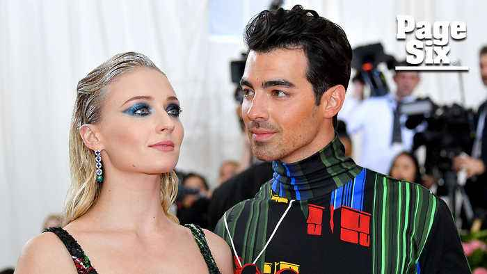 Joe Jonas and Sophie Turner Hooked Up To Hitched