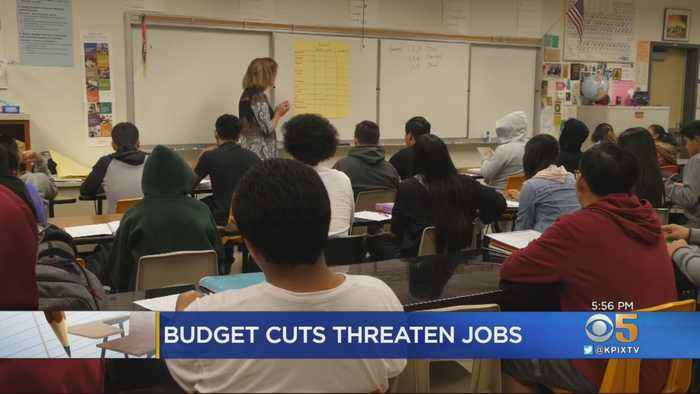 $23 Million Budget Shortfall Threatens Jobs In South Bay School District