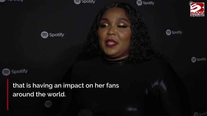 Lizzo says she's 'so popular right now' because she spreads kindness and light
