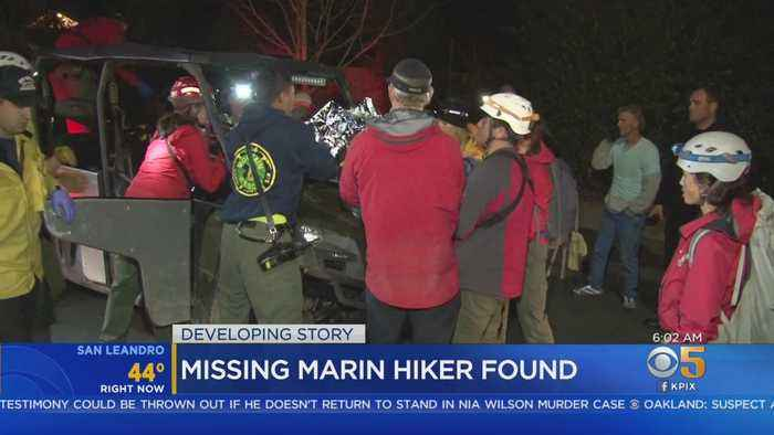 Hiker Found In Marin Wilderness; Palo Alto Couple's Disappearance Still A Mystery