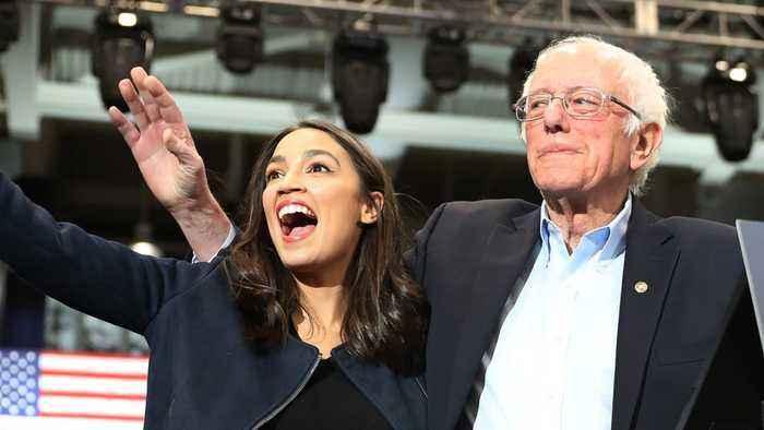 Alexandria Ocasio-Cortez Sides With 'The View' Over Bernie Bros