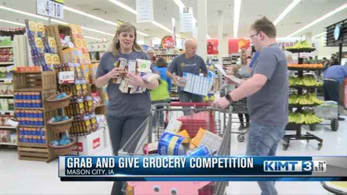 Grab and Give Grocery Competition