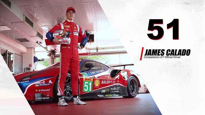 WEC - James Calado from Ferrari targets encore at COTA
