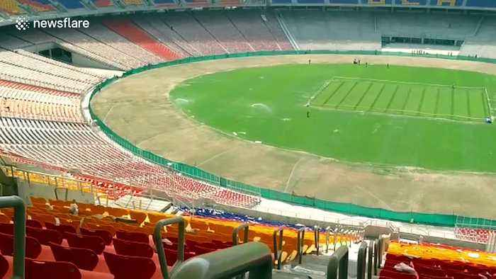 Trump to open world's largest cricket stadium during his India visit