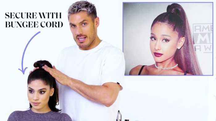 Chris Appleton's Ponytail Masterclass: Ariana Grandé, Kim Kardashian, and Jennifer Lopez