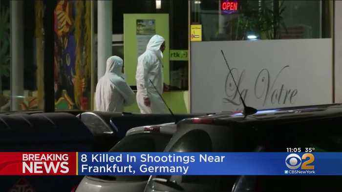 8 Killed In Shootings Near Frankfurt, Germany