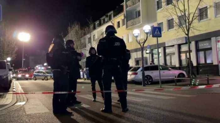 'Several dead' after Germany mass shooting