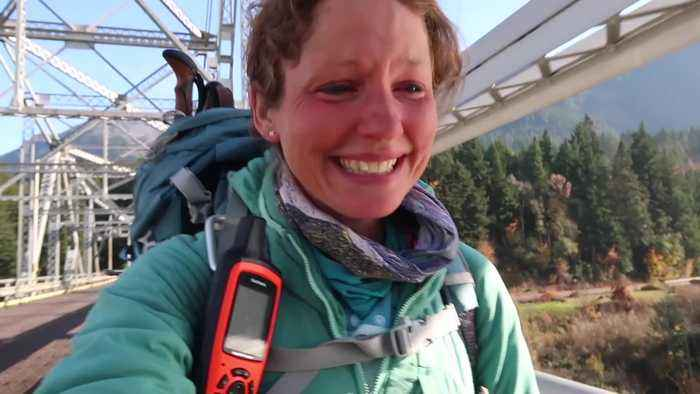 Brit racked 5m steps travelling across Mexico to Canada on foot
