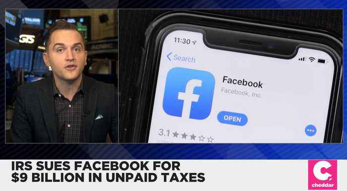 IRS Sues Facebook for $9 Billion in Unpaid Taxes