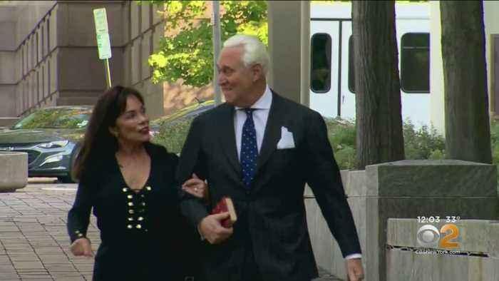 Sentencing Underway For Trump Associate Roger Stone