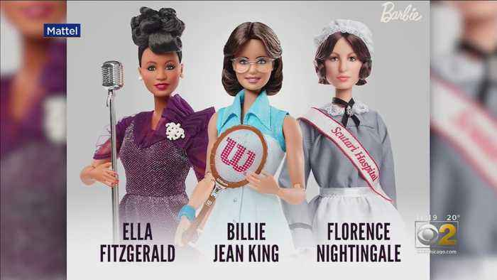 Barbie Introduces Line Of Inspiring Women Dolls