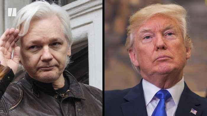 Julian Assange Lawyers Say Trump Offered Pardon