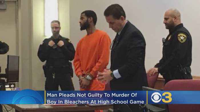 Man Charged For Murder In Fatal Shooting Of 10-Year-Old Boy At Pleasantville High School Football Game Pleads Not Guilty