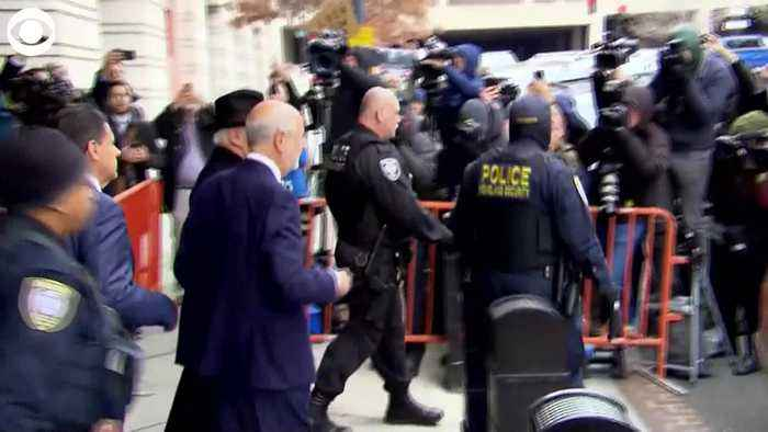WEB EXTRA Roger Stone Leaves Court After Sentencing