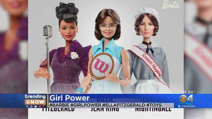 Trending Now: Barbie Paying Tribute To Important Women In History