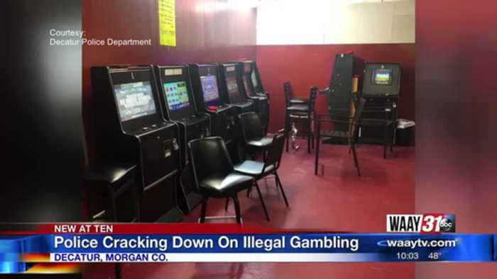 Police cracking down on illegal gambling