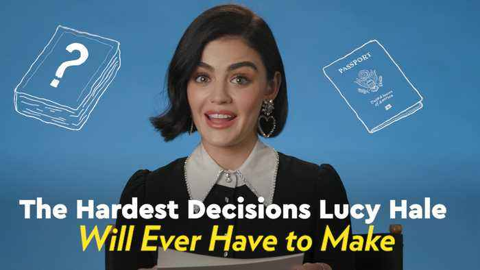 Fantasy Island Star Lucy Hale's Own Fantasies Include a Naked Body-Painting Date and a Giant Tray of French Fries