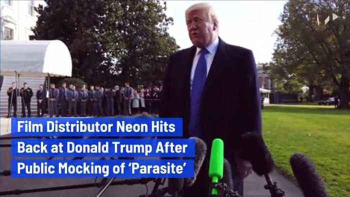 Film Distributor Neon Hits Back at Donald Trump After Public Mocking of 'Parasite'