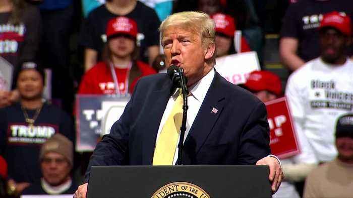 Trump mocks Klobuchar debate performance: 'She choked'