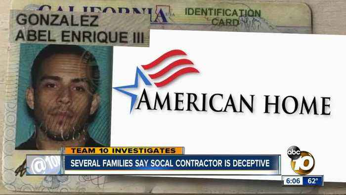 Multiple families warn about 'deceptive' SoCal contractor