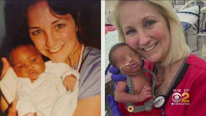 NICU Nurse Who Cared For NJ Man Over 30 Years Ago Now Caring For Man's Newborn Son