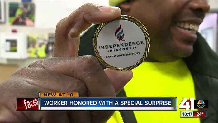 Waste Management worker honored for act of kindness