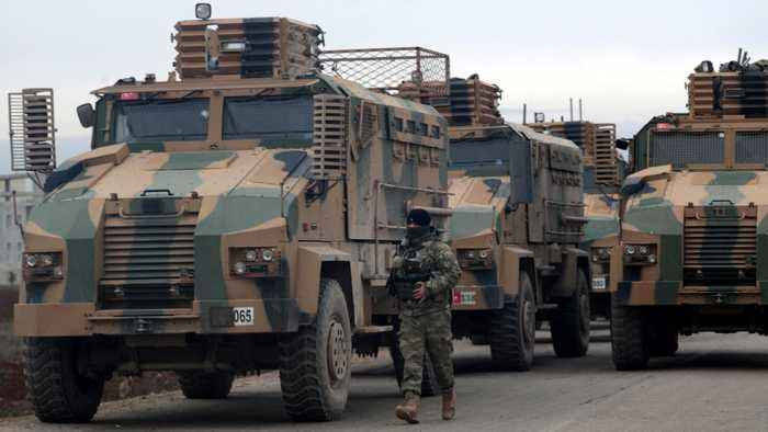 Fighting rages in northwest Syria; two Turkish troops killed
