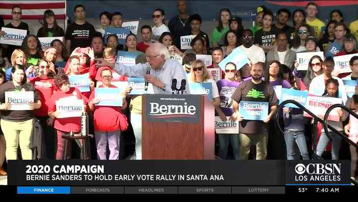 Bernie Sanders Rally in Santa Ana