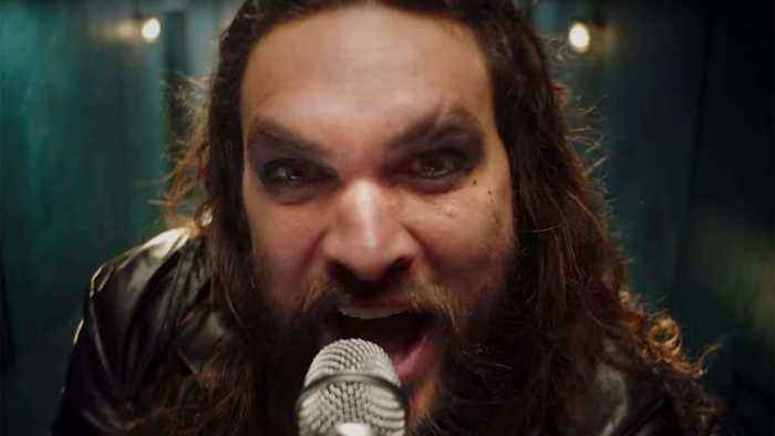 Jason Momoa Channels Ozzy Osbourne in 'Scary Little Green Men' Teaser | Billboard News