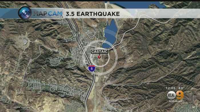 Magnitude-3.5 Earthquake Strikes Castaic