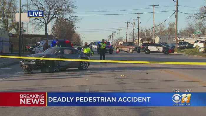 1 Dead, Another In Serious Condition Following Auto-Pedestrian Crash In Fort Worth