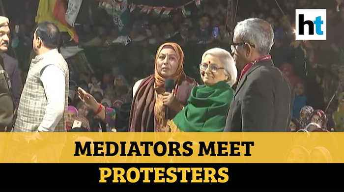 Shaheen Bagh Protesters Met Mediators